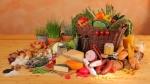 pile of food